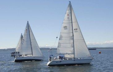 Mountaineers Racing / Sailing in Seattle